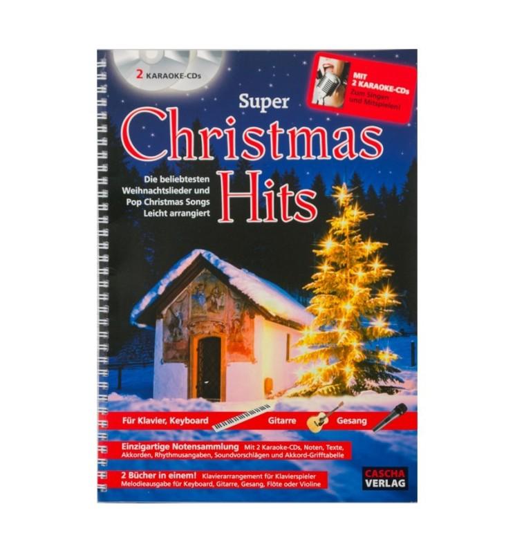 Notenheft Weihnachtslieder - Super Christmas-Hits