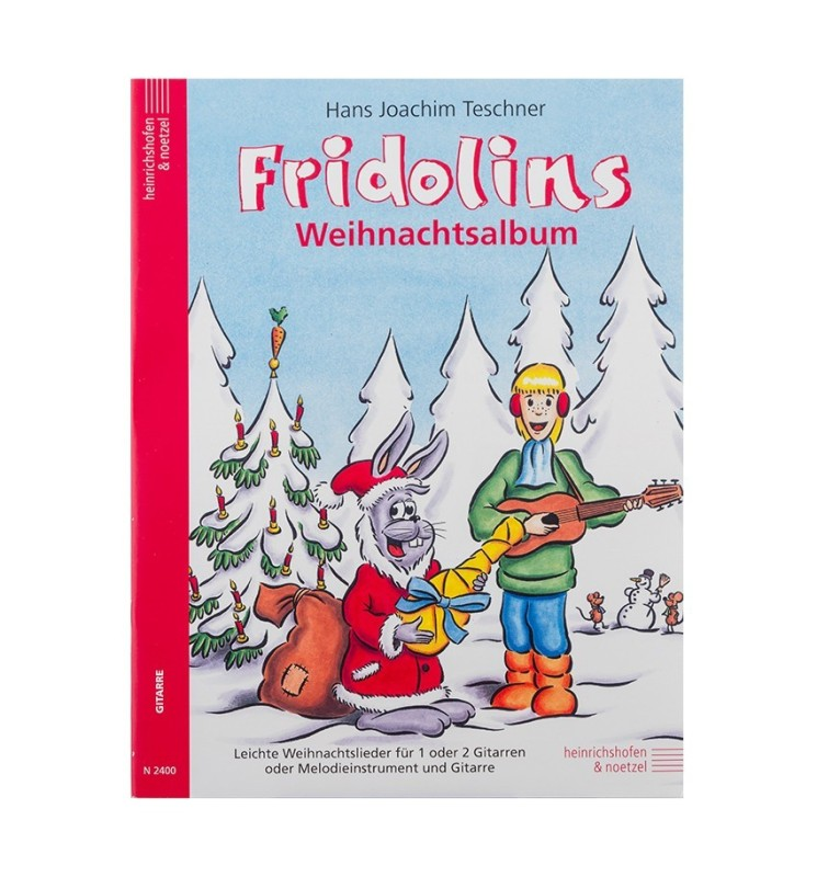 Notenheft Weihnachtslieder - Fridolins Weihnachtsalbum