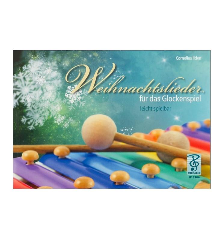 Notenheft Weihnachtslieder - für das Glockenspiel