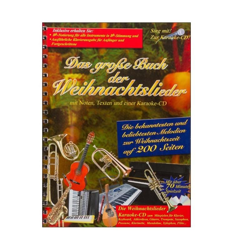 Notenheft Weihnachtslieder - Das große Buch der Weihnachtslieder