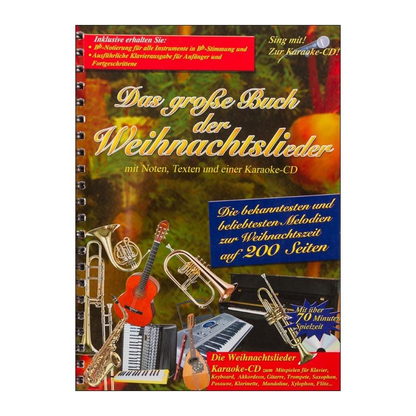 Notenheft Weihnachtslieder - Das große Buch der Weihnachtslieder ...