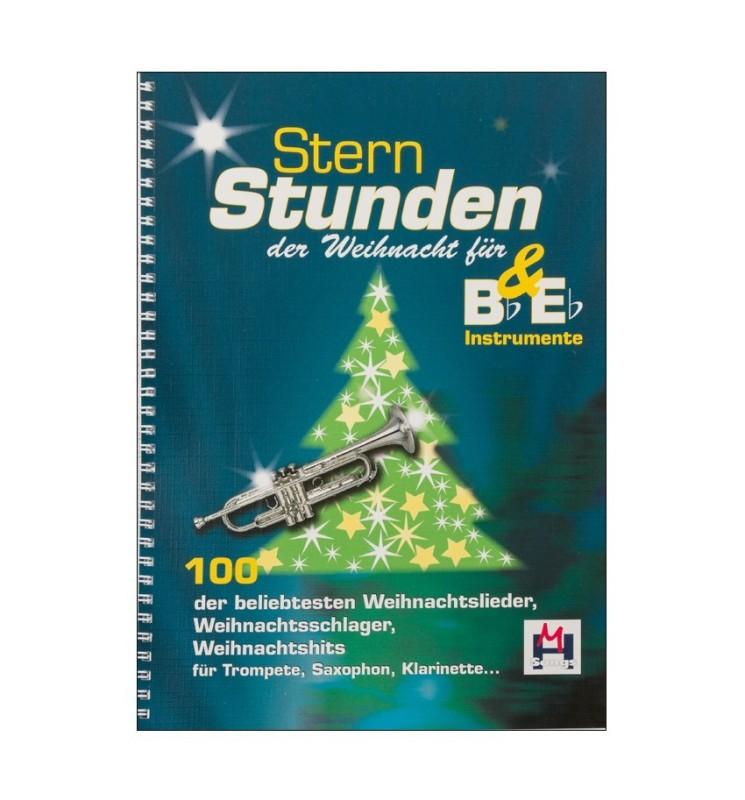 Notenheft Weihnachtslieder - Sternstunden der Weihnacht für Bb&Eb Instrumente