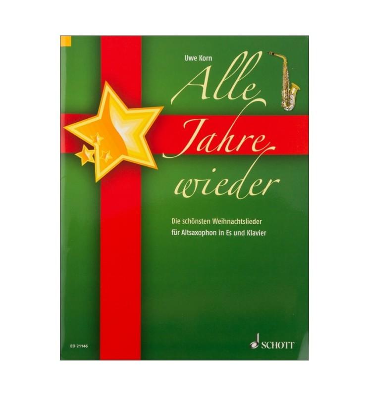 Notenheft Weihnachtslieder - Alle Jahre wieder