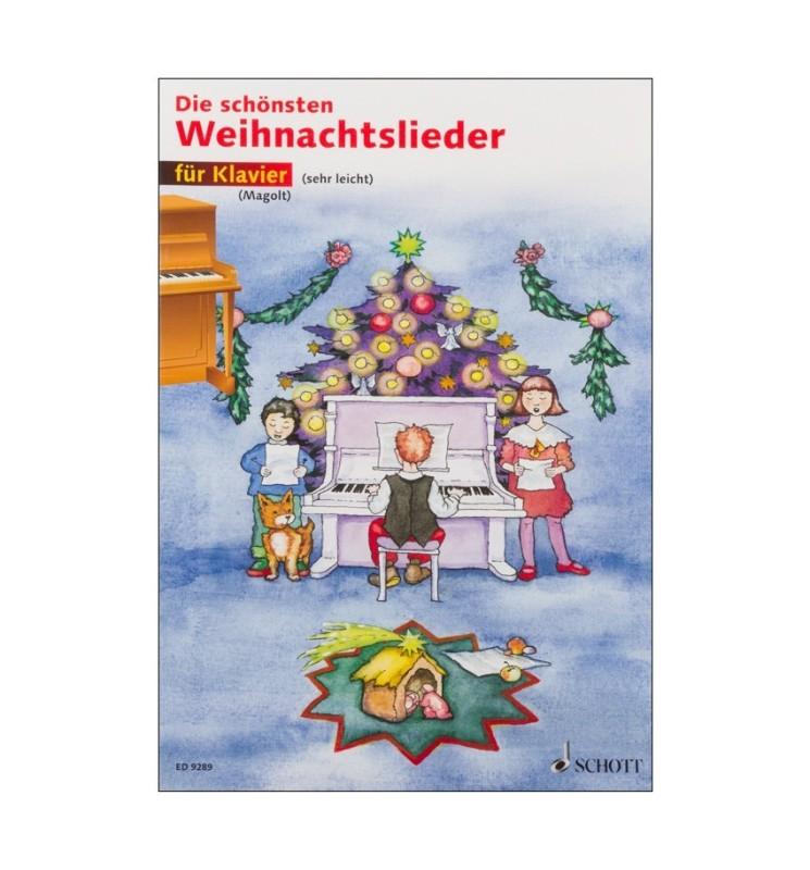 Notenheft Weihnachtslieder - Die schönsten Weihnachtslieder für Klavier