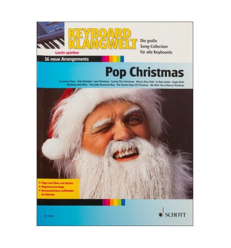 Notenheft Weihnachtslieder - Pop Christmas