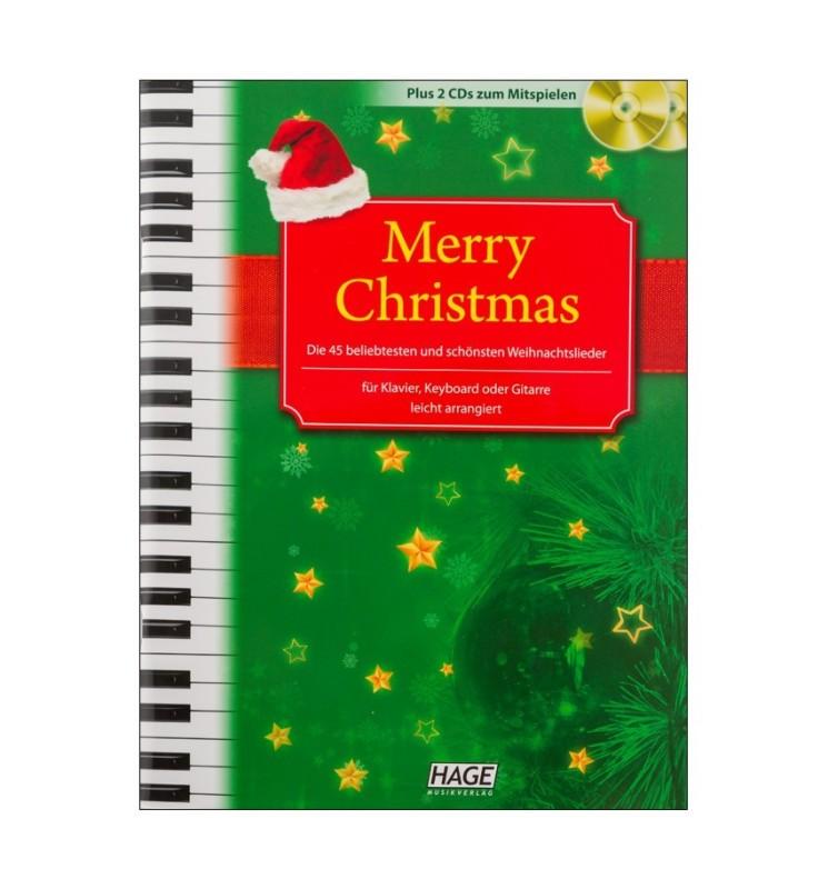 Notenheft Weihnachtslieder - Merry Christmas