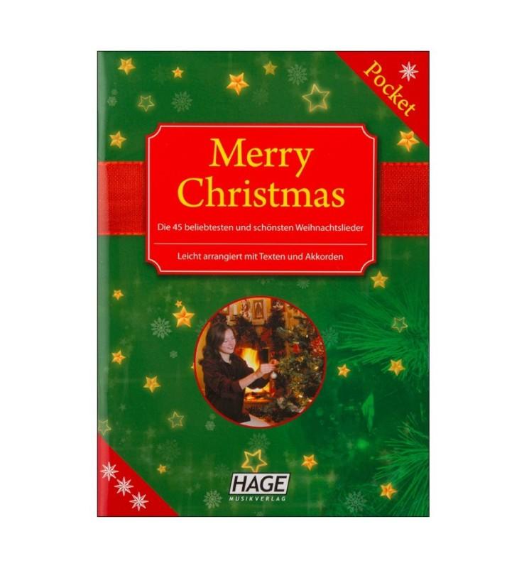 Notenheft Weihnachtslieder - Merry Christmas Pocket
