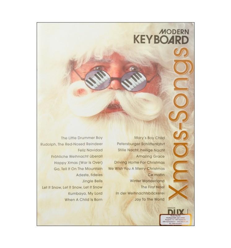 Notenheft Weihnachtslieder - Xmax Songs