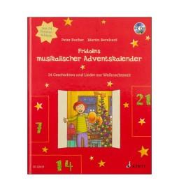 Notenheft Weihnachtslieder - Fridolins musikalischer Adventskalender