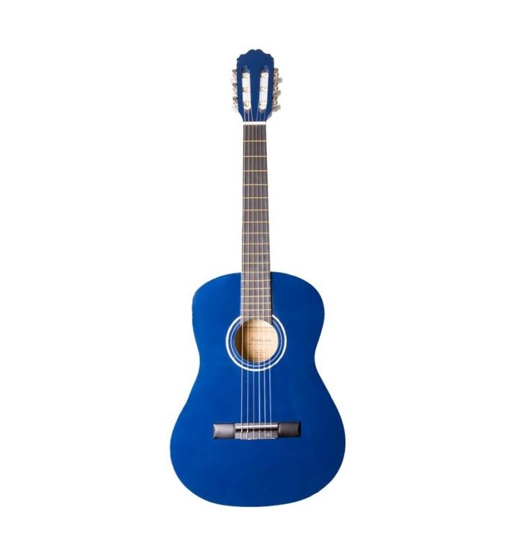 Konzertgitarre 3/4 Startone CG-851 blau
