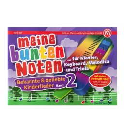 Notenheft - Meine bunte Noten - Band 2