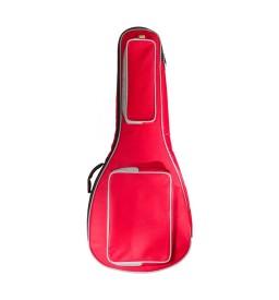 Gitarrentasche Gigbag 4/4 für Konzertgitarren rot